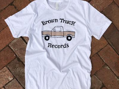 Brown Truck Tee - White main photo