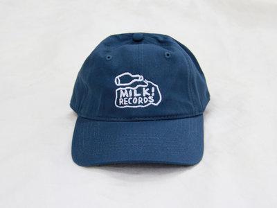 MILK! RECORDS six panel CAP [WASHED BLUE] main photo