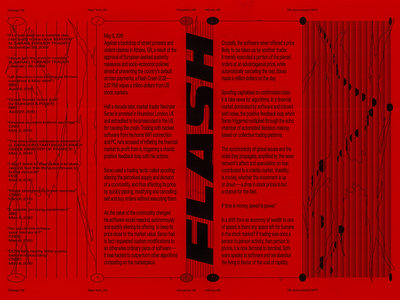 Network Study XIV – Flash, double-sided Risograph print (A3) main photo