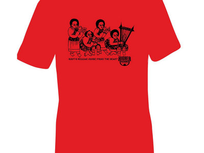 Higher Regions Records T-Shirt (Red) main photo