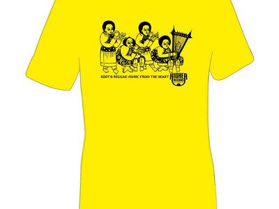 Higher Regions Records T-Shirt (Yellow) main photo