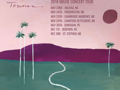 TICKETS - Lansdowne House Concerts, Nov 24th (Fredericton, NB) main photo