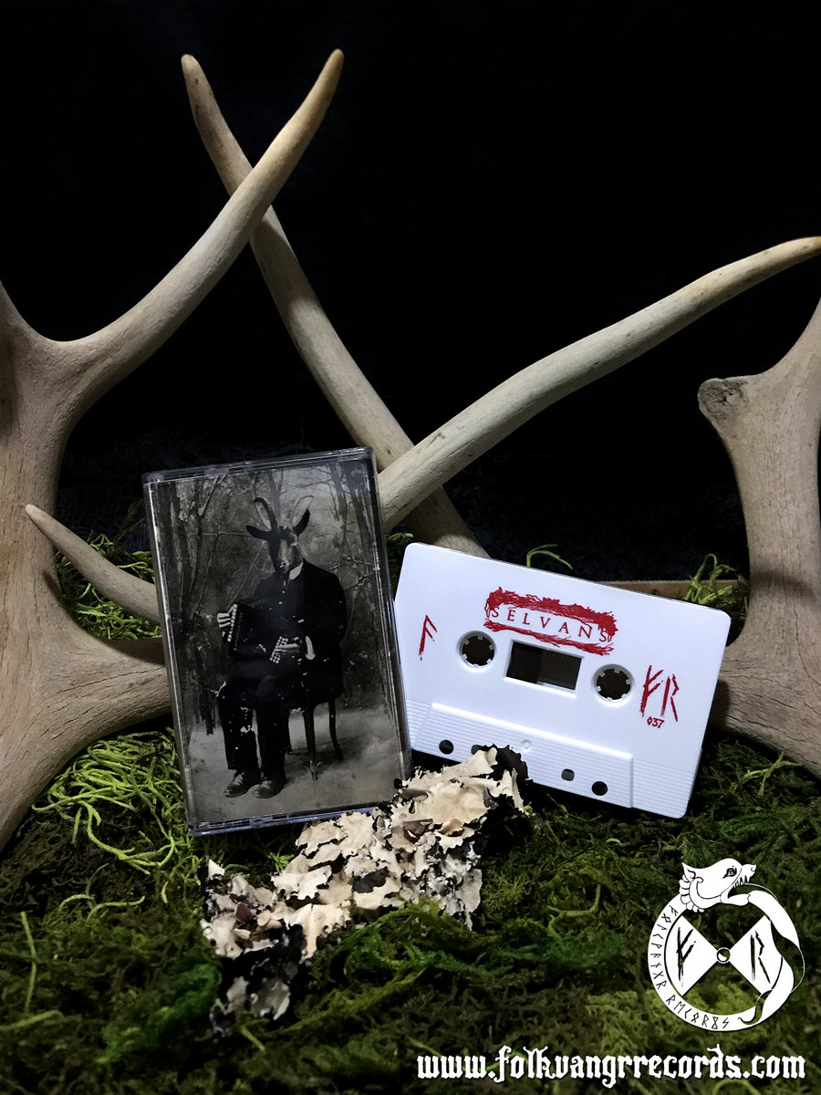 9f3b4f765 Solid white cassette with metallic red ink and hand-numbered, double sided  7-panel sleeve in a crystal clear case. Includes unlimited streaming of  Faunalia ...
