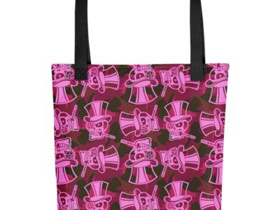 Cherry Camo Tote Bag main photo
