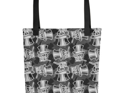 Grayscale Camo Tote Bag main photo