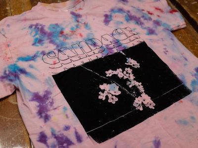 "TIE DYE Candace ""Flowers"" T-shirt main photo"