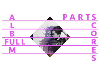 "*The Full ""Walk Against Wind"" Album [Digital PDF Score and Parts] main photo"