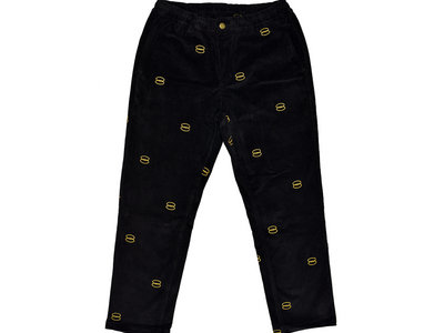 Rhythm Section x Dr Banana Gold Ring Embroidery Corduroy Trousers main photo