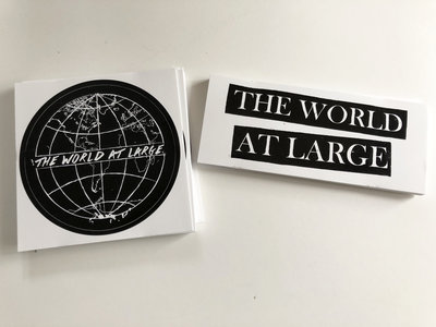 Globe & Bars Stickers main photo