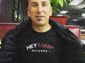 Hey Man! Records Black T-Shirt photo