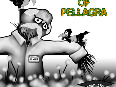 The Ballad of Pellagra Vinyl Sticker main photo