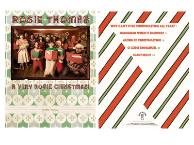 A VERY ROSIE CHRISTMAS! - The Originals and Traditionals Singalong Songbook main photo
