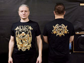 "T-shirt ""Октаграмма"" - Black photo"