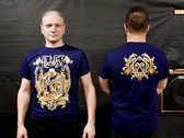 T-shirt with blazon - Blue photo