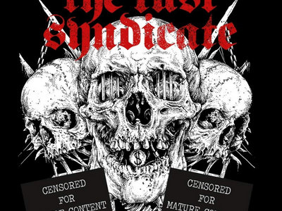THE LUST SYNDICATE (SPIRITUAL FRONT): Capitalism is Cannibalism (Vinyl+CD) main photo