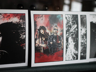 Signed album art prints main photo