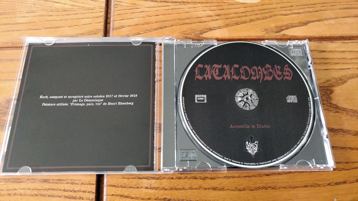 Accueille Le Diable Ep Catacombes