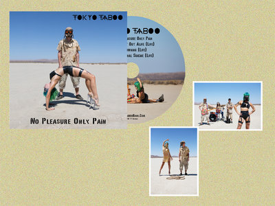 'No Pleasure Only Pain' CD Single + Exclusive Signed Art Print main photo