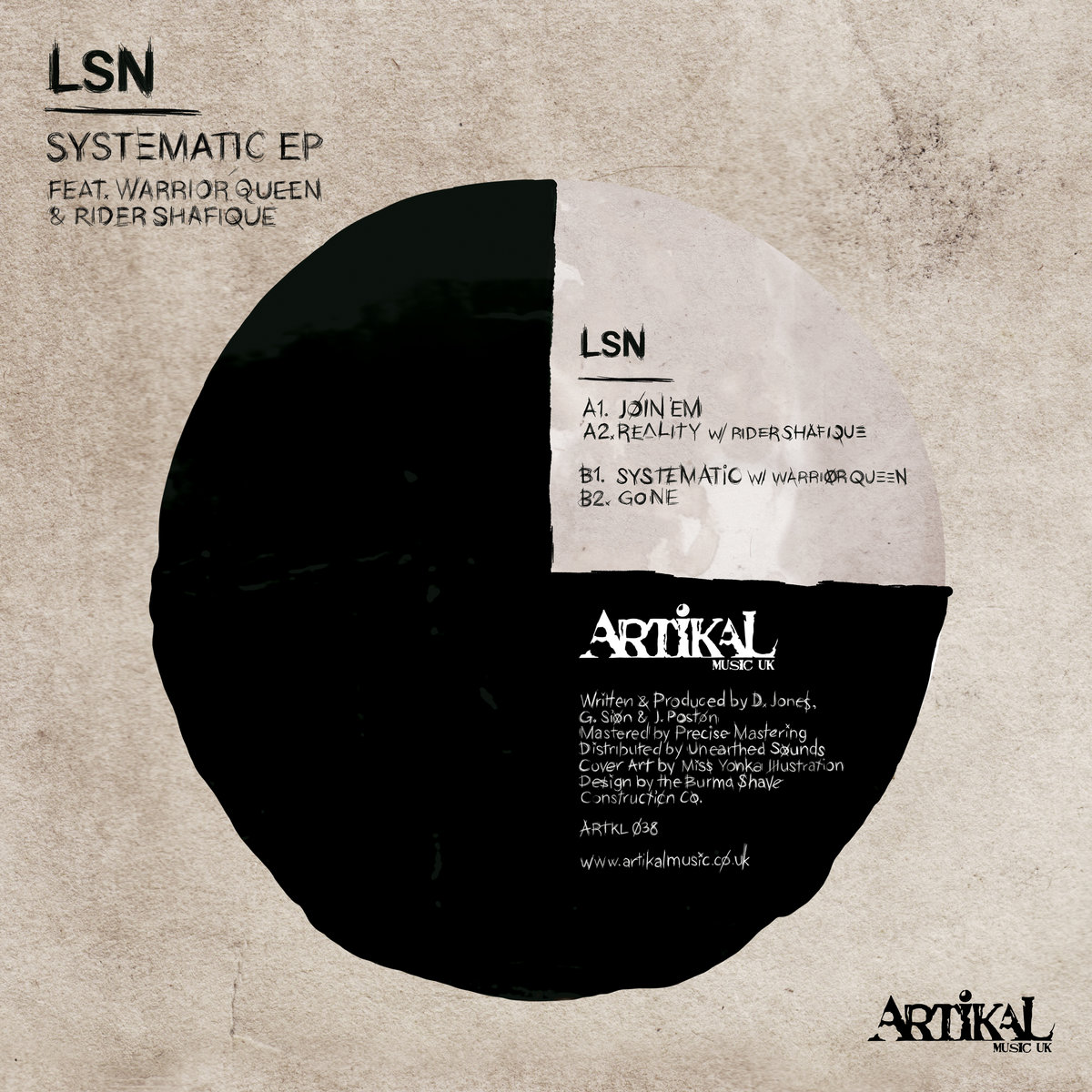 Lsn Systematic Ep A1 Join Em A2 Reality Ft Rider Shafique B1 Warrior Queen B2 Gone