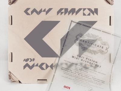 "CARL FINLOW - MIDI ARCHEOLOGY - 7x12"" VINYL RECORDS BOX main photo"