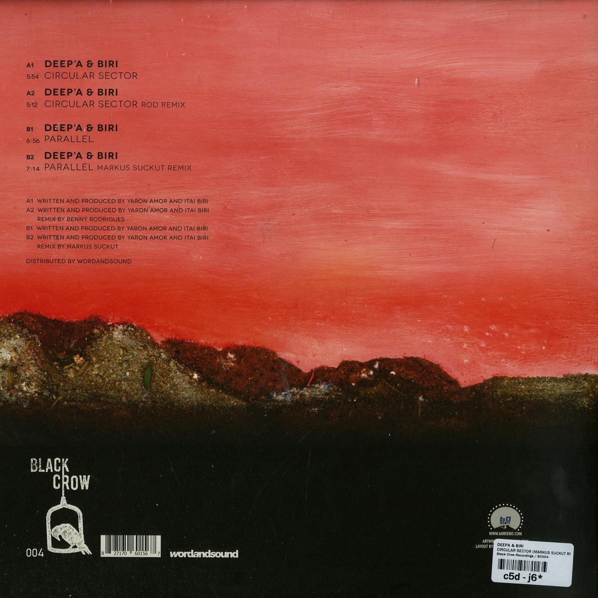 Deep'a & Biri - Circular Sector   Black Crow Records