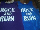 ROCK AND RUIN TANK photo