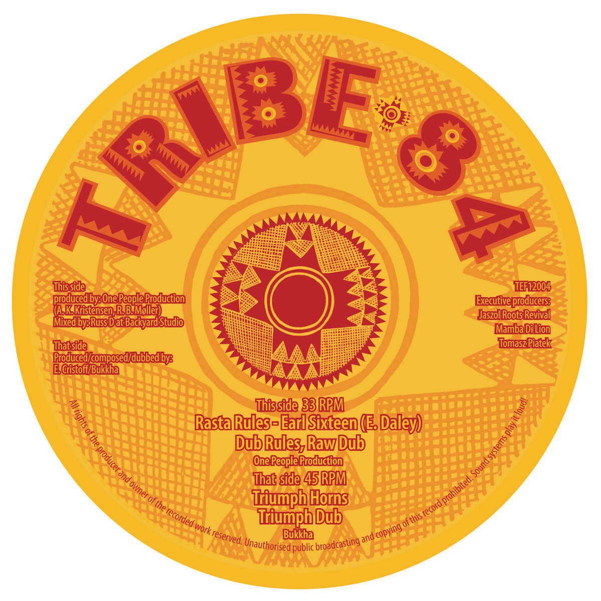 Includes unlimited streaming of One People Production feat Earl Sixteen - Rasta Rules / Bukkha - Triumph Horns via the free Bandcamp app, plus high-quality ...