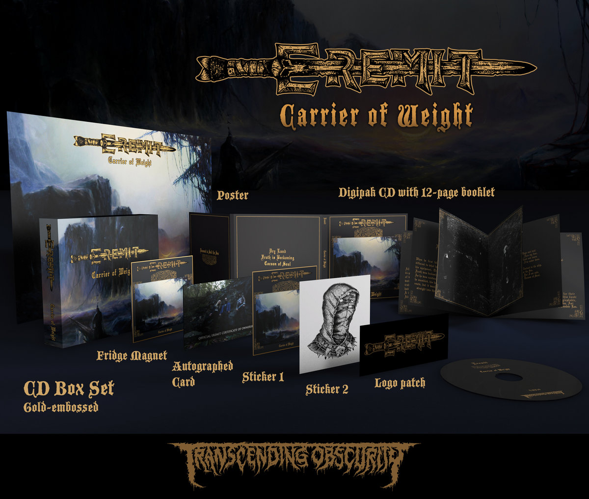 Carrier Of Weight (Atmospheric Sludge/Doom Metal) | Eremit