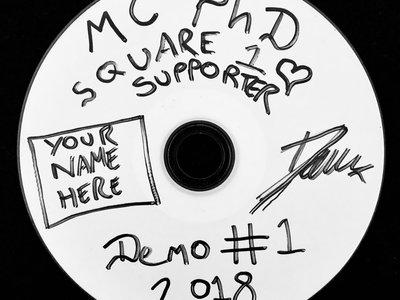 MC PhD - Signed & Personalised Homemade Demo CD main photo