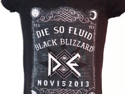 Black Blizzard Ouija Board T-Shirt main photo