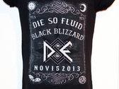Black Blizzard Ouija Board T-Shirt photo