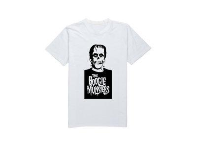 Boogie Munsters T-Shirt - White main photo