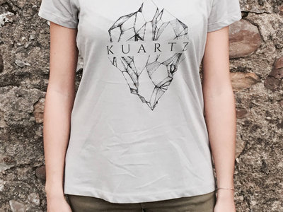 Kuartz T-shirt - Grisa/Grey - Neska/Girl main photo