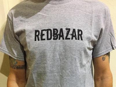 Red Bazar T-Shirt. Grey main photo