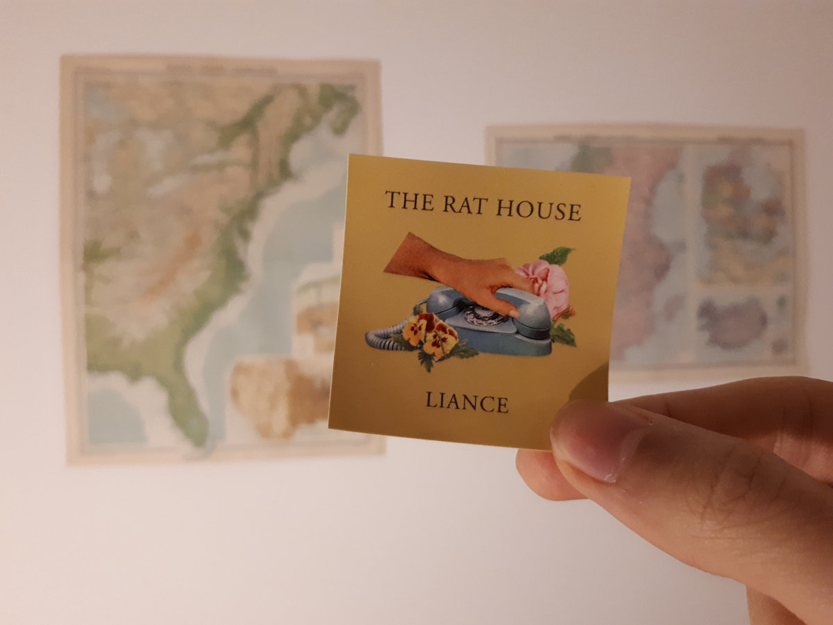 We Made Some Cute Little Rat House Cover Art Stickers Tuck Three In Each Envelope Along With A Clic Large Vinyl Sticker Codes And Custom