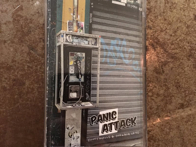 Panic Attack - Empty Malls & Parking Lots - Clear/green foil tape main photo