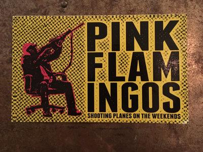 Pink Flamingos sticker main photo