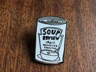 Soup Review Enamel Pin | Soup Review