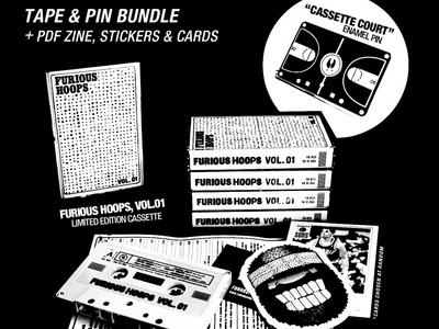 FH:VI-005 // Furious Hoops Tape + Pin Bundle main photo