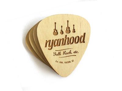 Ryanhood Wooden Coasters (4 pack) main photo