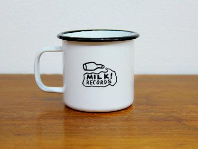 MILK! RECORDS milk logo ENAMEL MUG main photo