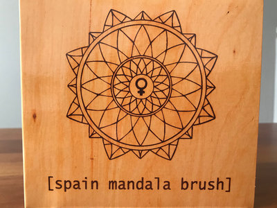[spain mandala brush] U.S. version on Compact Disc [signed] main photo