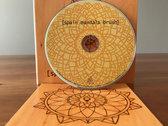 [spain mandala brush] U.S. version on Compact Disc [signed] photo