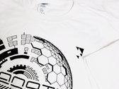 White Cyanotic logo t-shirt photo