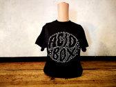 Acid Box Black Logo T-shirt photo