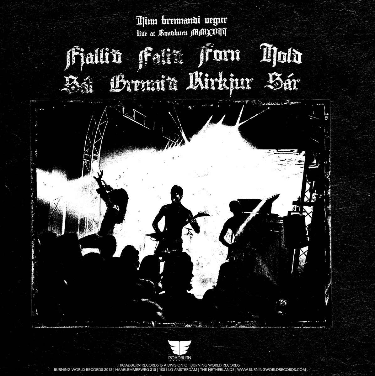 Fjallið (Live At Roadburn 2017) | Roadburn Records
