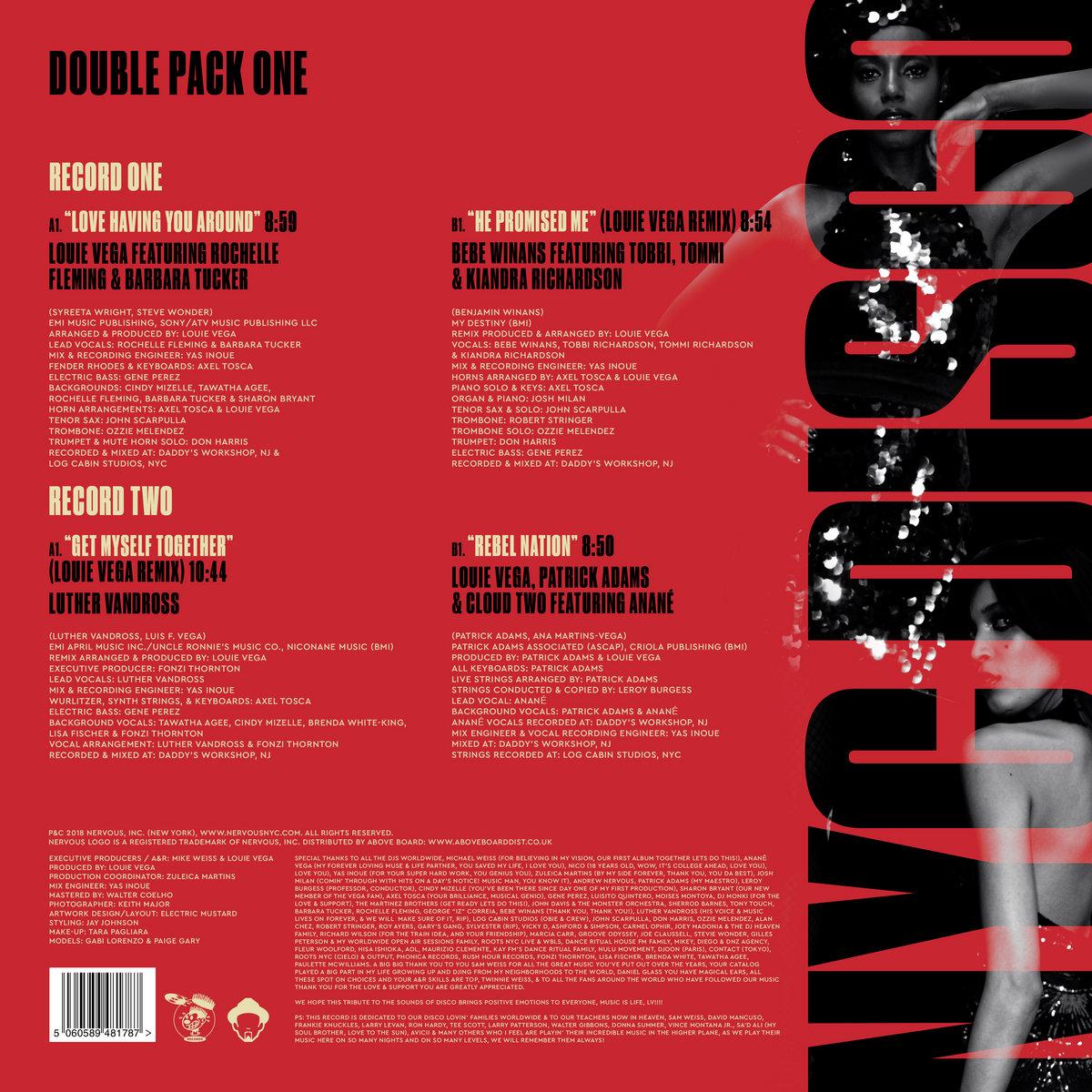 NYC Disco - Double Pack 1 | Louie Vega
