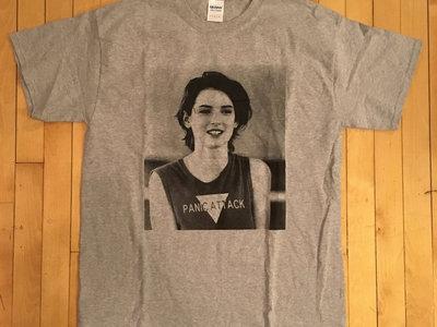Panic Attack - Winona t-shirt (athletic grey) main photo