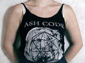 Ash Code 'Logo' Tank (Woman) photo