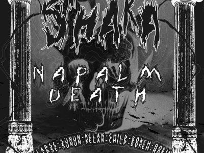 Bokeh x ATC Heritage poster: Shaka & Napalm Death main photo